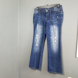 New Aria Jeans Curvy Flare Bootcut Size 13 14